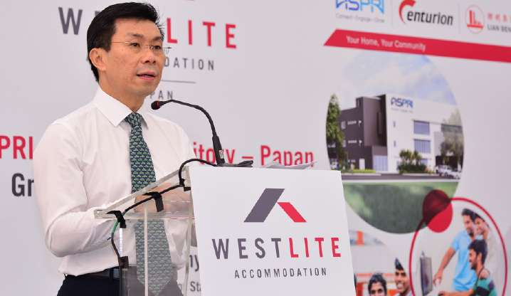 Groundbreaking Ceremony of ASPRI-Westlite Dormitory – Papan, on 18 March 2015